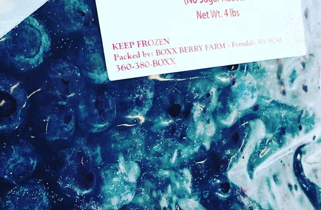 Frozen Blueberry Special
